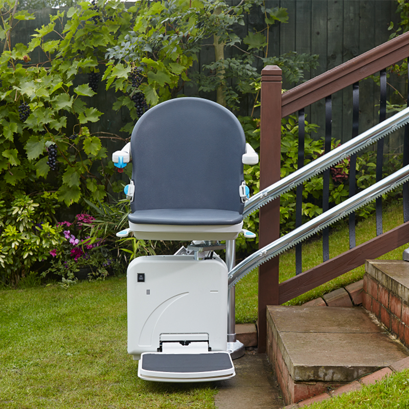 san jose 2000 outside exterior stairlift are handicare chairlift