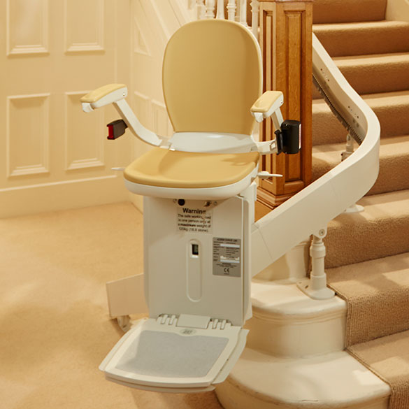 SAN JOSE CURVED STAIRLIFT