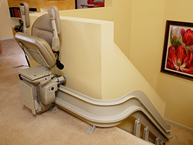 oakland ca curved stairlift