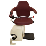 P Classic Bordeaux Red Swivel Free