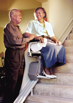 San Francisco Bay SRE-2750 Electra-Ride LT Indoor Straight Rail Stairlift