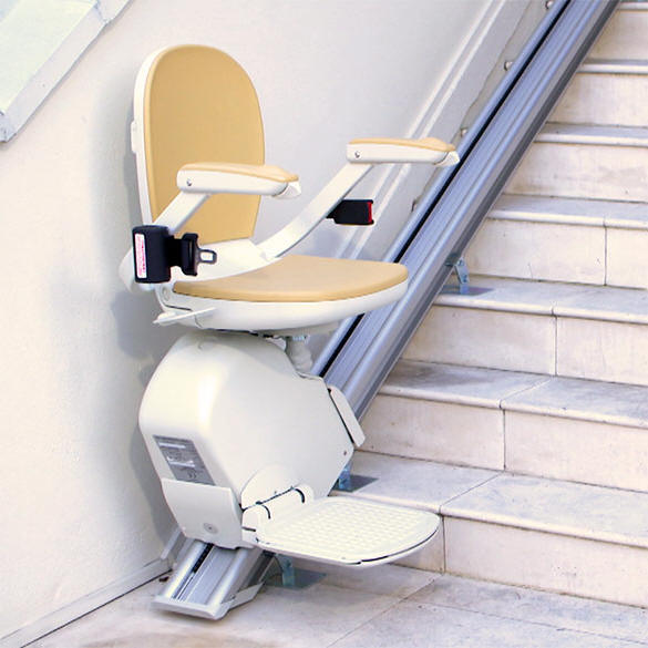 The Acorn 130 Outdoor StairLift  Call San Francisco Stair Lifts