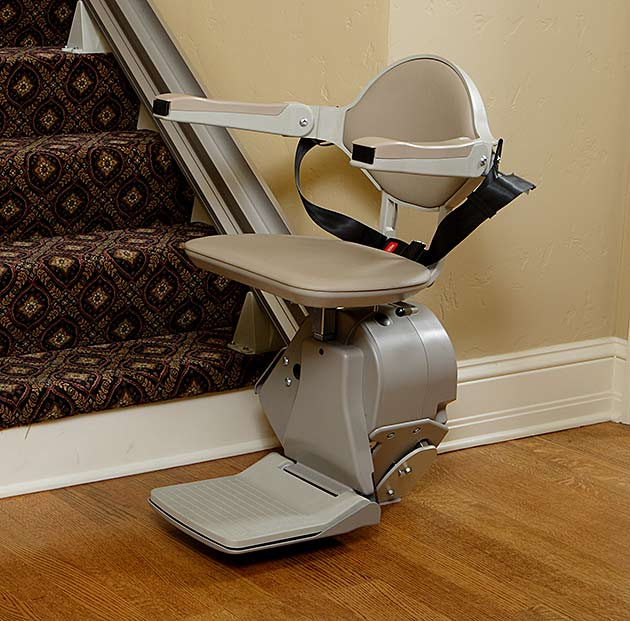 Los-Angeles  straight rail indoor home residential stairlift
