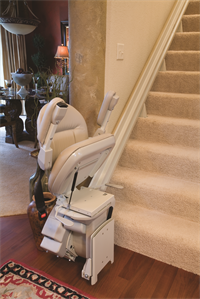 Buena Park indoor home residentail stairway staircase glide